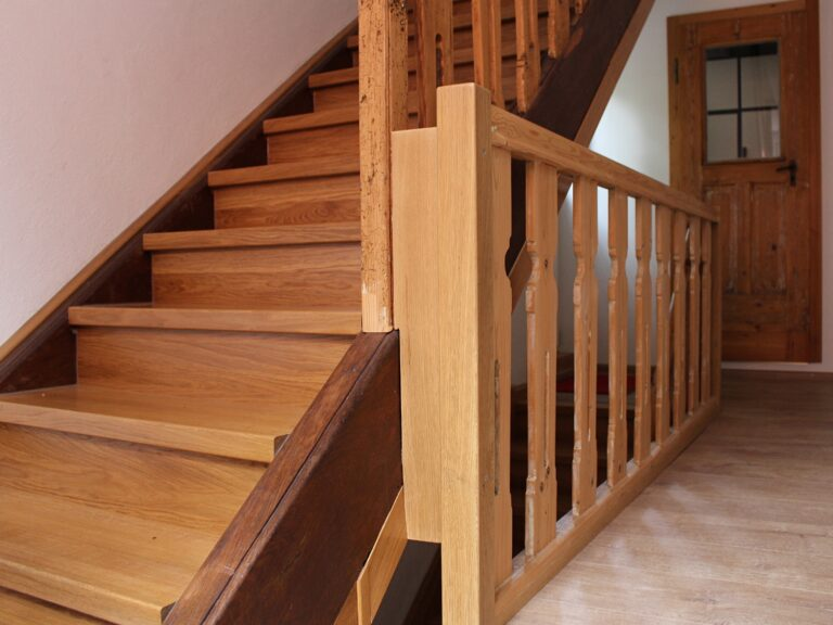 Restaurierung Treppe